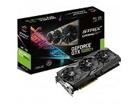 Asus GeForce GTX 1080Ti ROG Strix OC 11264MB GDDR5X PCI-Express Graphics Card