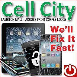 CELLPHONE REPAIR,UNLOCK AND ACCESSORIES CELLCITY LAMBTON MALL Sarnia Sarnia Area image 1
