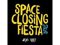 3x SPACE IBIZA CLOSING FIESTA TICKETS * THE LAST EVER PARTY @ SPACE * CARL COX,TALE OF US+MANY MORE*