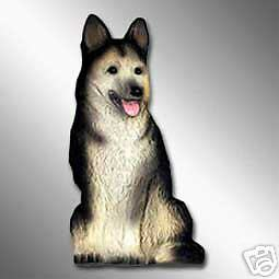 GERMAN SHEPHERD Dog - Best Friends MAGNET Unbreakable