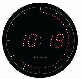 led digital wall clocks