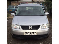 2005 VW TOURAN S 1.9 TDI 7 SEATS !!LONG MOT DIESEL CHEAP LOVELY FAMILY CAR