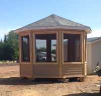 10 X 10 Cedar Gazebo for sale