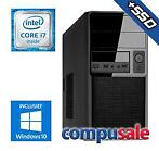 Intel Core i7 8700 / 16GB / 240GB SSD + 1TB / WINDOWS 10 ...