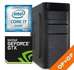 Intel Core i7 7700 / 8GB / 1000GB / Geforce GTX 1050 Ti 4GB