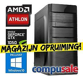 AMD Athlon X4 845 / 8GB / 1TB / GTX 1050 Ti 4GB / WINDOWS...