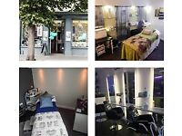 Beauty Room to rent in vibrant and busy town centre hair salon.