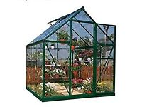 New Palram Harmony 6x10 greenhouse