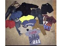 Next bundle trousers/coat/t shirts/ jeans all 12-18 months