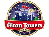 Alton Towers tickets Sunday 24th June