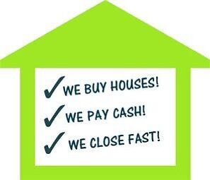 We buy houses/ town homes!