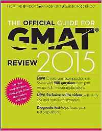 GMAT 2015 Official Guide!