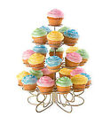 Silver Cake & Cupcake Stands