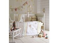 Mamas & Papas nursery bedding bundle. Unisex whirligig collection. Immaculate condition.