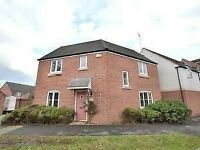 Furnished Double Bedroom in Luxury & Modern Detached House in Quedgeley, Gloucester.