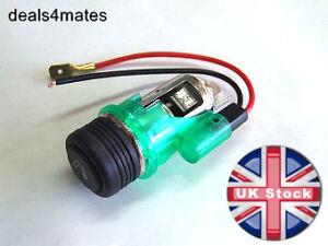Universal Car Cigarette Lighter 12v Socket Illuminated
