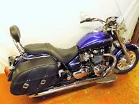 2014 Triumph Bonneville America LT. 530 miles only, and as new.
