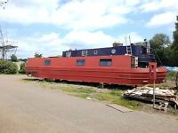 50ft traditional narrowboat Kingfisher