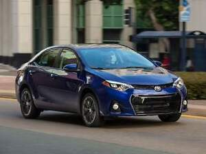 For sale 2014 toyota corolla sport