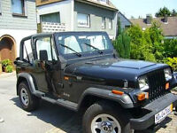 LOOKING For  JEEP, YJ or TJ   For Parts
