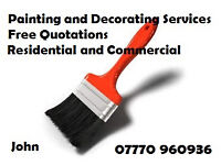 Painting and Decorating - Professional, Efficent and Friendly Service in West Sussex - Free quotes