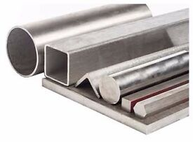 Steel sections / Metal offcuts - Box sections , pipe, sheet etc.