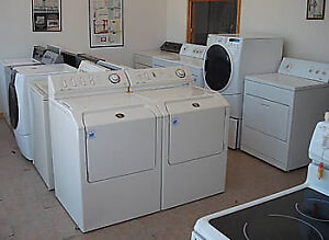 WASHERS & DRYERS RECONDITIONED STARING AT 150 EACH WITH WARRANTY