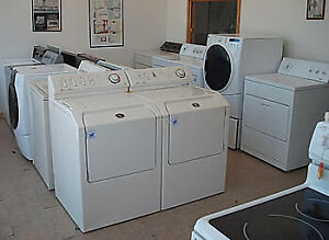 USED WASHER - DRYER - FRIDGE - STOVE QUALITY & CLEAN WARRANTIED