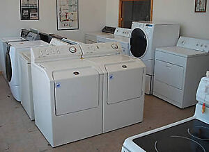 NEW & USED WASHER DRYER FRIDGE STOVE WITH WARRANTY START AT 150