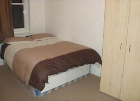 Single bed in a two bed flat