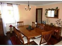 Dining Antique pine Table & Chairs