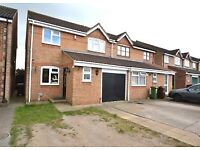 Stunning spacious five bedroom house with garden and garage in Dagenham East, RM10