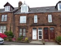 2-3 Bed Victorian Sandstone Ground Floor Flat with Garden to Rent in a Lovely Quiet Area in Dumfries