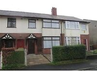 3 bed house with 2 reception rooms, Preston, close to transport, schools, shops, all amenities