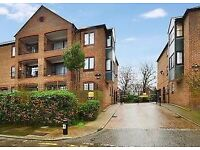 One bedroom in gated development with private riverside terrace. Plymouth Wharf, London, E14