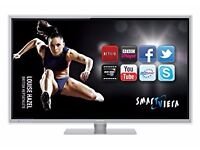 panasonic viera tx47et50b ,led 3d smart with wifi build in . mint condition