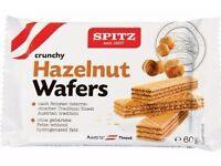 Spitz Wafers 3 Flavours Available: Chocolate/Vanilla/Hazelnut