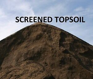 Top Quality Screened Topsoil for sale