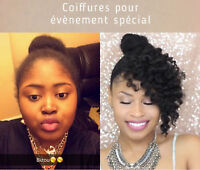 Coiffures africaines/ crochets Braids/ tissage / nattes