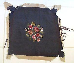 Vintage Needlepoint Chair Cover Ebay