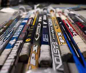 WANTED; ANY USED OLD BROKEN HOCKEY STICKS