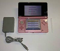 *****PINK NINTENDO 3DS IN THE BOX + MANY GAMES AVAILABLE*****