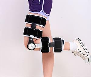 Adjustable knee support joint brace