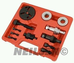 Air Conditioning Compressor Clutch Service Tool Kit - Harrison Sanden Delphi