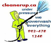 CLEANERUP - BUDGET PRICED PRESSURE WASHING SERVICE