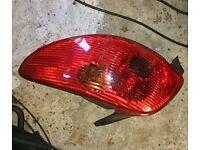 Peugeot 206 O/S Rear Light (2004)