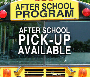 Pick up and drop off and after school caring