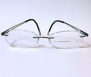 1f2c334403 Silhouette Rimless Titanium Eyeglasses