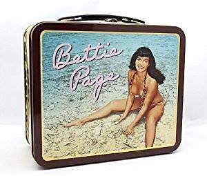 BETTIE PAGE LUNCHBOX!