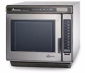 RC17S2 Amana Heavy Duty Stainless Steel Commercial Microwave Ove